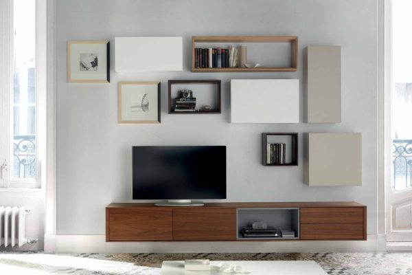 Composición modular tv 824