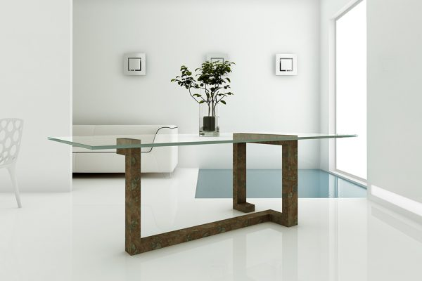 Mesa comedor marmol 900 2