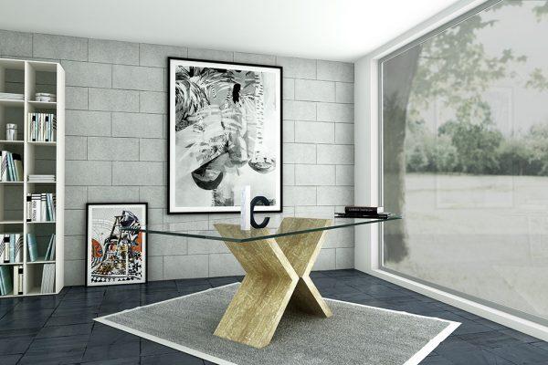 Mesa comedor marmol 900 3