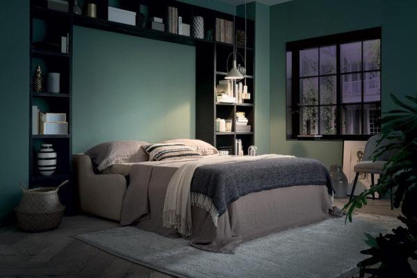 Sofá cama Italiano abierto 980