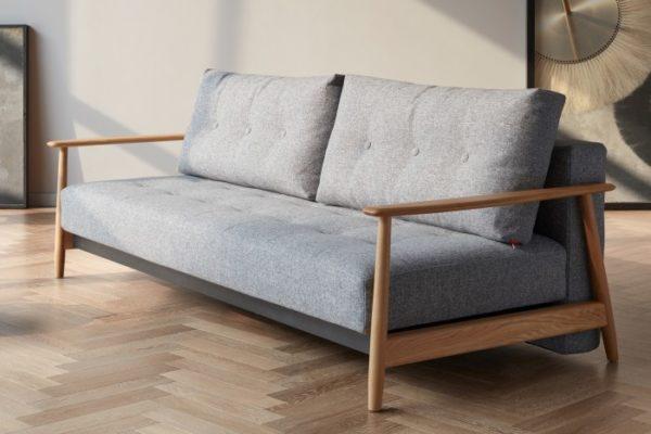 Sofá cama estructura roble 1033 .